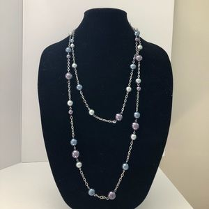 NWT double strand necklace by Lia Sophia 💝